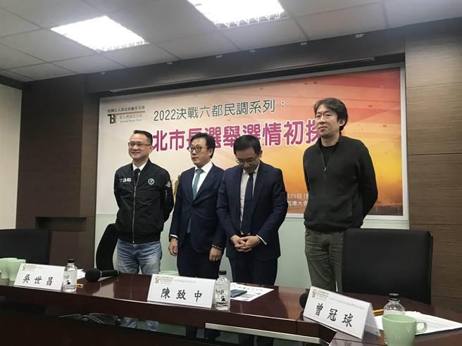2022首都市長選舉 蔣萬安老少通吃 左打陳時中右打吳怡農。曾薏蘋攝
