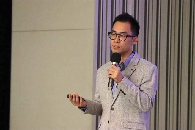 浪Live行銷長李維鈞分享直播平台網紅經營的模式。/時報獎執委會提供