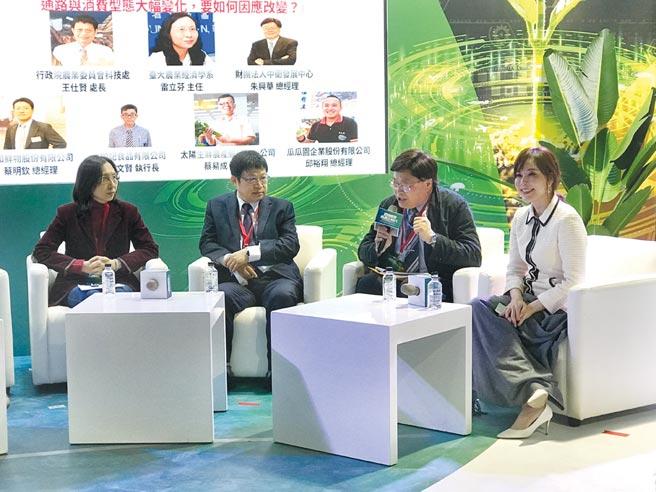 中衛中心總經理朱興華綜合座談分享。圖╱中衛中心提供