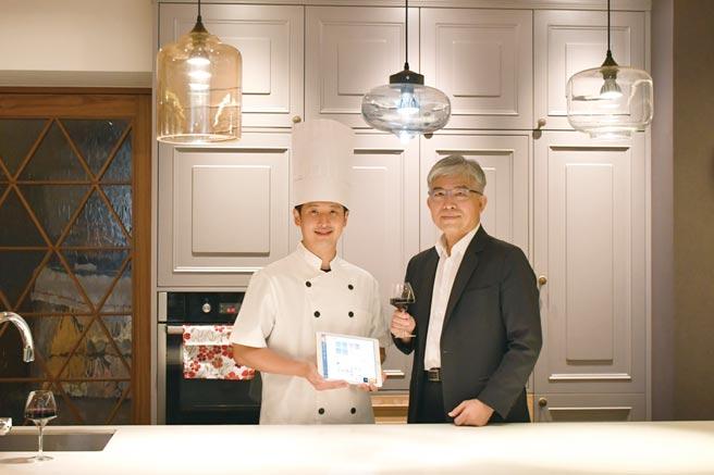新光保全與智慧餐飲平台商「肚肚」協力挺餐廳數位轉型。圖/業者提供