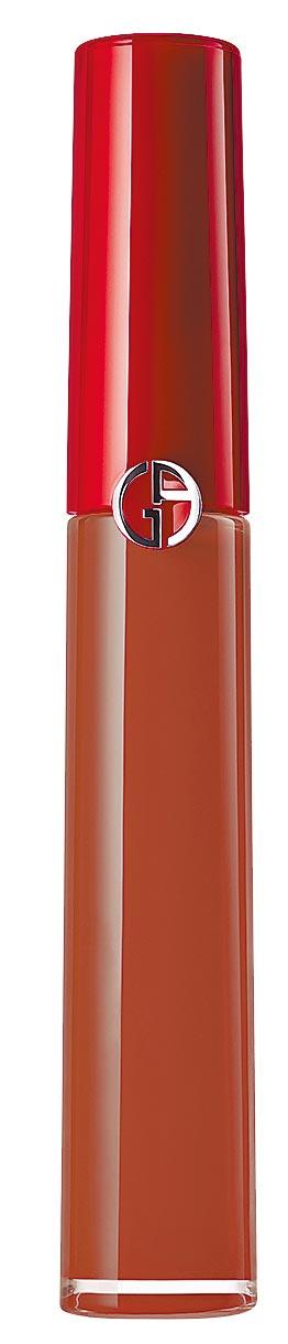 Giorgio Armani奢華絲絨訂製脣萃#103,1300元。(Giorgio Armani提供)