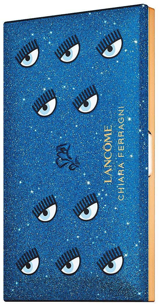 Chiara Ferragni眨眼藍潮系列眼頰彩盤,2950元。(蘭蔻提供)