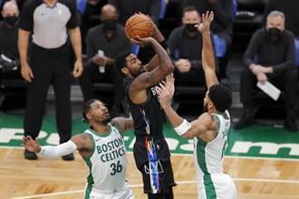 NBA》厄文豪取37分 籃網當奧客宰翻塞爾提克