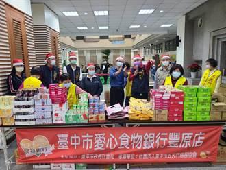 食物銀行交流異國文化 物資發放日體驗手作米線