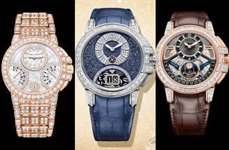 「鑽石之王」推全新大日期顯示腕錶 全球限量20只