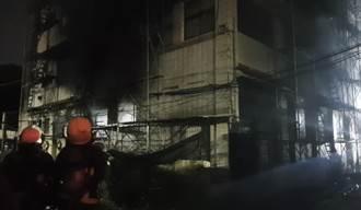 北市內湖恕德家商傳火警  民眾目擊爆炸聲響濃煙竄