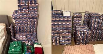 女子曬大量聖誕禮物遭酸民批評炫耀 稱:疫情讓她今年沒看到兒孫