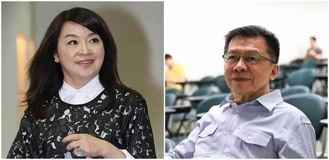 資深媒體人周玉蔻(左圖)、前民進黨立委沈富雄(右圖)。(本報系資料照、沈富雄臉書)