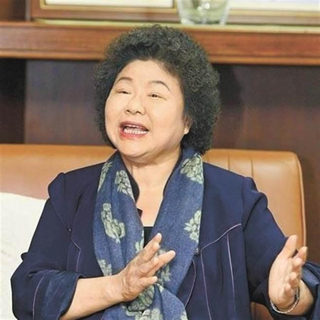 監察院長陳菊。(圖/本報系資料照)
