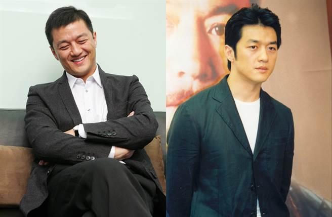 李亞鵬年輕時青澀,近年轉為帥氣大叔。(圖/中時資料照片)
