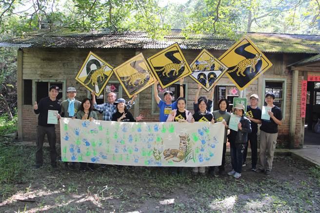 山貓森林保護公館淺山生態,啟動北河園區「買森林。護山貓」計畫,吸引300多人集資響應,成為台灣首件公眾集資買生態棲地保護環境的成功案例,也在園區內記錄到石虎棲息。(何冠嫻攝)