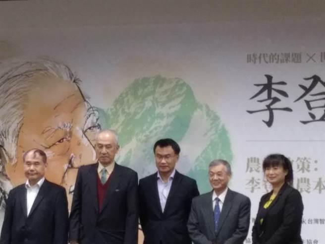 台灣智庫今天舉行紀念李登輝的座談會畫面(記者季節攝)