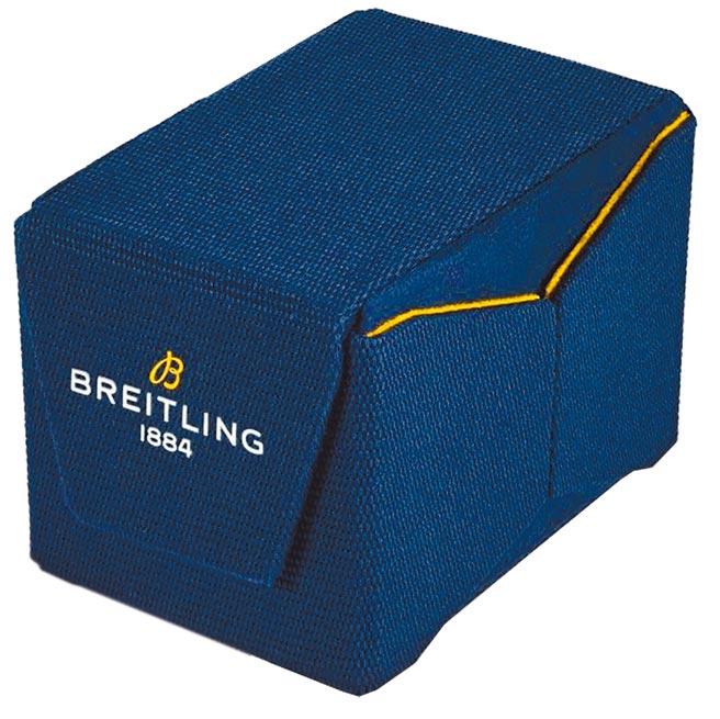 百年靈將自2021年起全面採用以回收寶特瓶製成的表盒。(Breitling提供)