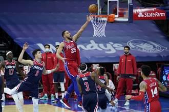 NBA》班西蒙斯仍不會投籃 總教練說沒關係