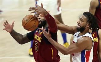 NBA》拚到2OT!騎士爆冷拔活塞開季2連勝