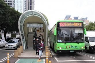 中市台灣大道交通分流 再推8公車路線改駛專用道