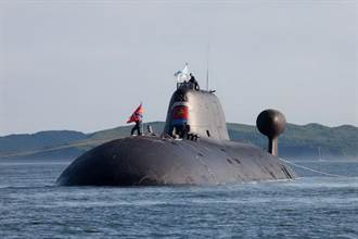 俄國「花豹號」核攻擊潛艦改裝完成離開乾塢