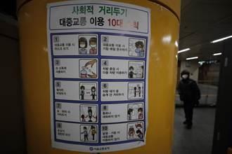 南韓首都圈2.5級防疫延至1月3日