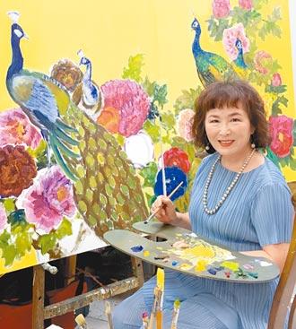 欧丽珠油画展 元月16日开展