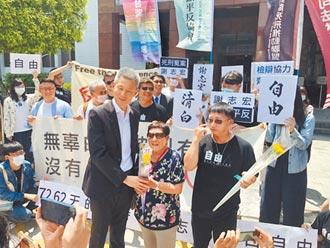 謝志宏冤獄18年 獲補償2319萬