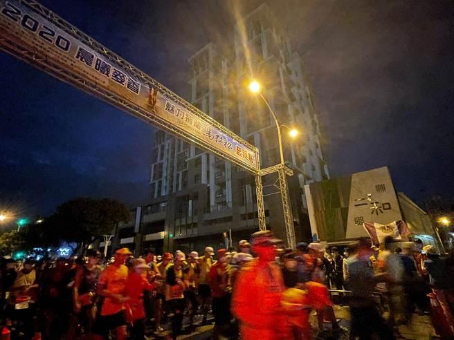 馬拉松活動吸引多位好手報名參加。(台中市政府提供/陳世宗台中傳真)