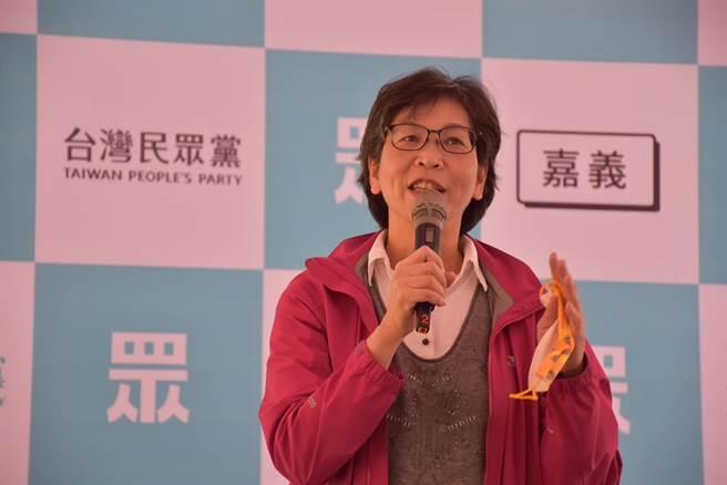民黨籍立委蔡壁如的責任區是雲嘉南區,她今天表示會積極受理民眾陳情。(呂妍庭攝)