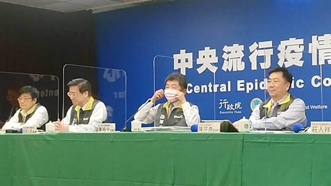 副指揮官陳宗彥(右一)。(本報資料照)