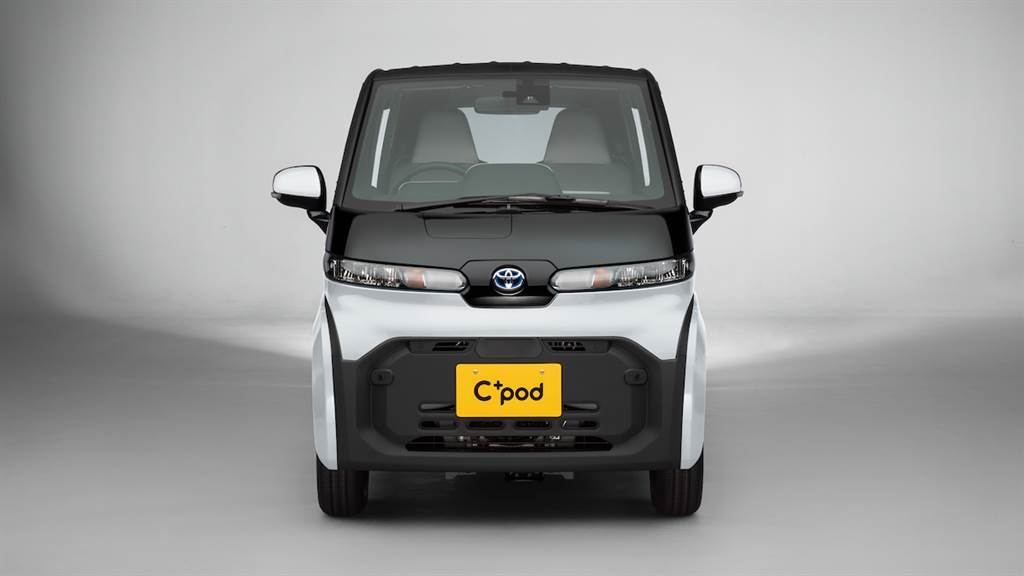 續航力150km、極速60km/h,Toyota 雙人座超小型EV「C+pod」日本限定販售