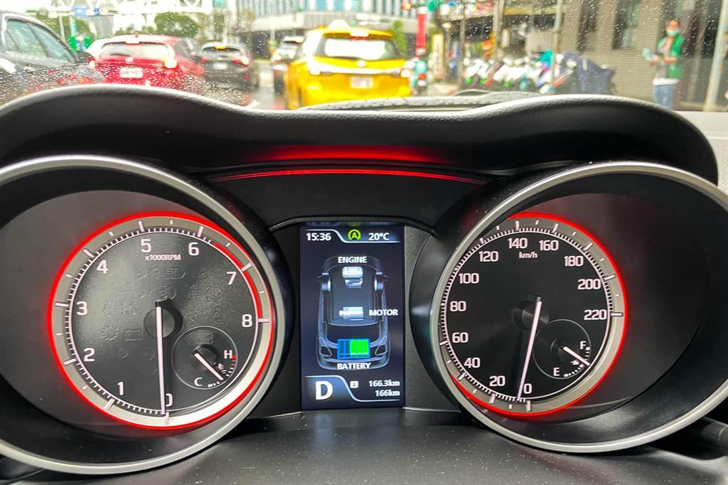在12V Mild-Hybrid系統的加持之下,Start/Stop系統可在時速11km/h以下滑行時,就先將引擎關閉,且引擎啟閉過程相當順暢,更讓人願意使用。