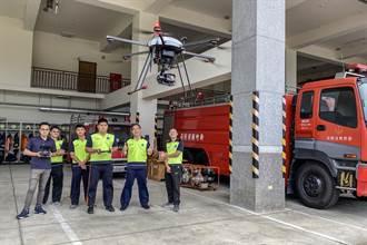 竹縣34名消防員考取無人機G1證照 強化救災能力