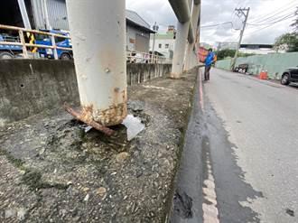 後村圳雙邊護欄施作不同步 居民憂事故摔溪底
