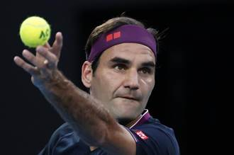 網球》費德勒缺席明年澳網 中斷連續參賽紀錄
