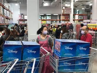 好市多「迪士尼夯物」又上架 客直擊超狂掃貨畫面 網轟無恥