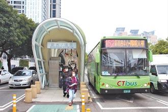台灣大道分流 8公車改駛專用道