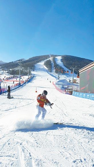 2022冬奧加持 崇禮滑雪場人氣飆
