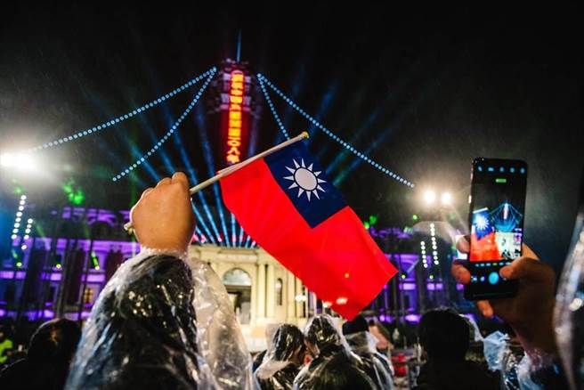 圖為中華民國元旦,民眾熱情參與的畫面。(圖為中時資料照)
