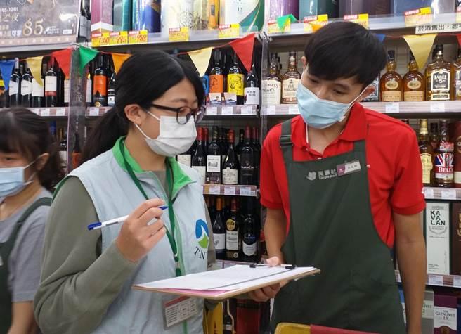 台南市政府環保局公告從2021年1月1日起將不再清運各超商垃圾。(環保局提供/洪榮志台南傳真)
