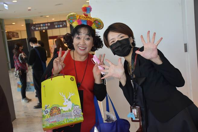 故宮南院今28日滿5周年,吸引15位壽星前來與南院共度生日派對。(呂妍庭攝)