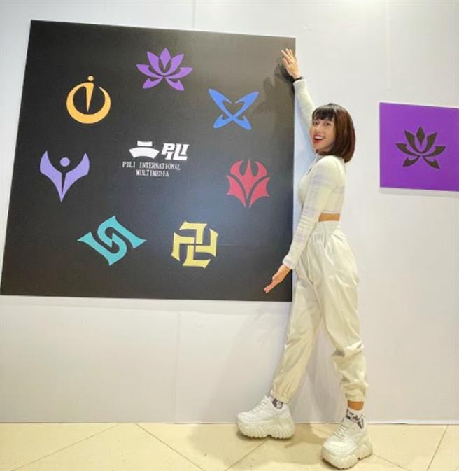 李芷婷快閃《霹靂IP英雄世界特展》。(霹靂國際多媒體提供)