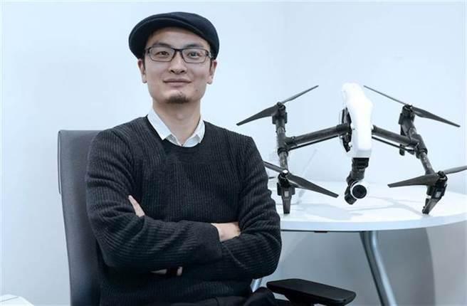 大陸無人機市占最高品牌,大疆創新(DJI)創辦人 汪濤。(圖/取自網路)