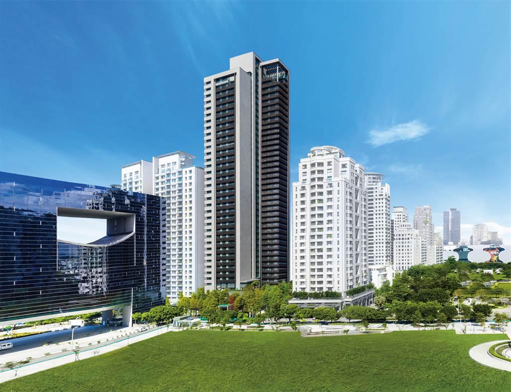 「寶璽天睿」是台中備受矚目的罕見超豪宅,邀請國際團隊操刀。(業者提供)
