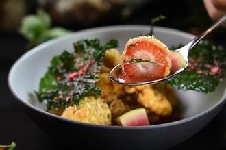 獨〉草莓還能怎麼入饌?台北晶華打造「 超級盃」誘客