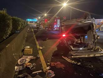 下車看車損被撞飛 國3二次車禍4傷