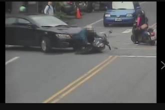 妙齡女疑緊張誤踩油門 6旬阿伯遭拖行輾壓重傷亡
