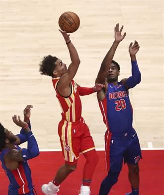 NBA》蛻變後的老鷹展翅高飛 輕取活塞開季3連勝