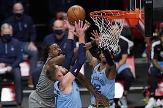 NBA》杜蘭特厄文缺陣 籃網延長不敵灰熊吞2連敗