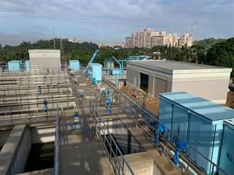 蘭潭淨水場擴建年底日增供水3萬公噸充裕發展需求