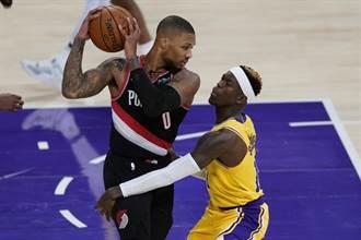 NBA》拓荒者逆斬湖人 終結打完三節領先不敗神話