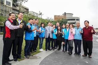 竹東之心中興河道水岸及城鎮步行空間再造計畫工程竣工啟用
