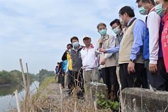 台南劉厝排水有夠臭 民代爭取前瞻經費治理